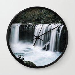 Waterfall Overhaul Wall Clock