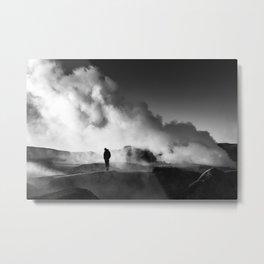 Geyser Bolivia Metal Print