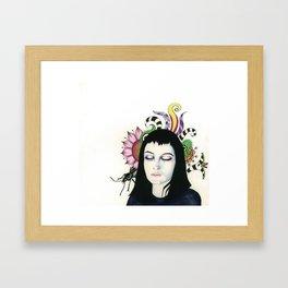 Strange & Unusual Framed Art Print