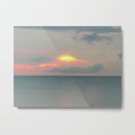 Sky: Muffled Coast Metal Print