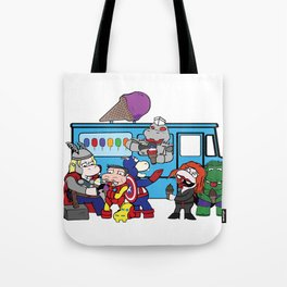 A Whole World Screaming! Tote Bag