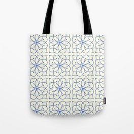 Fashion Flower Pattern Art Print Tote Bag