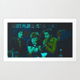 Scott Pilgrim Art Print