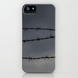 Barb Wire II iPhone Case