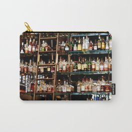 BOTTLES ALL IN A ROW Carry-All Pouch