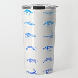 Mascara Envy – Blue Ombré Palette Travel Mug
