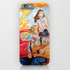 Vintage, music, retro. iPhone 6s Slim Case