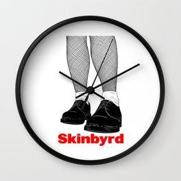 Skinhead Skinbyrd graphic | Rude Girl / Skingirl prints Wall Clock