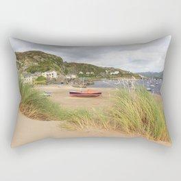 Barmouth Boats Rectangular Pillow