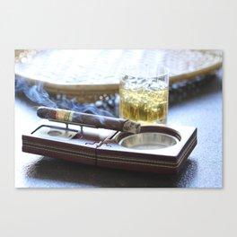 Cigar Time Canvas Print