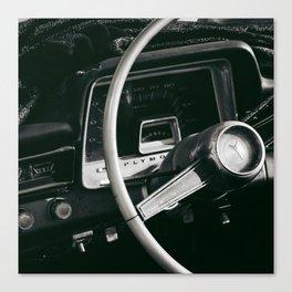drive away Canvas Print