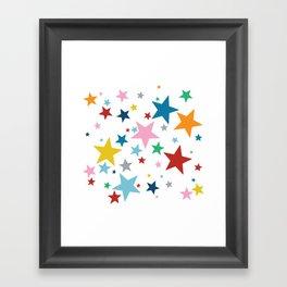 Stars Small Framed Art Print