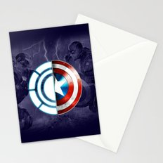 CIVIL WAR BEGIN Stationery Cards