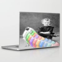 lsd Laptop & iPad Skins featuring LSD Chicken by Whiteashes