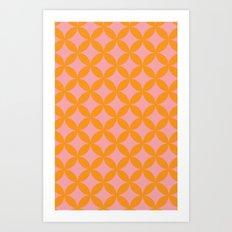 peach paradise Art Print