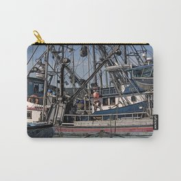 FISHING BOATS VISE A VERSA Carry-All Pouch