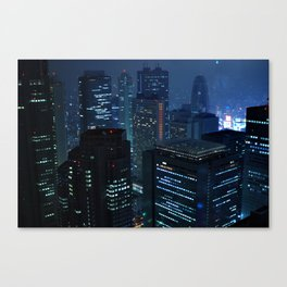 Tokyo Blues Lost in Translation Canvas Print