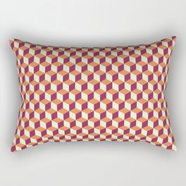 Block Pattern Rectangular Pillow