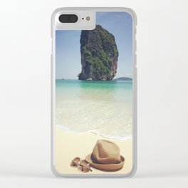 outdoor sunlight island Clear iPhone Case
