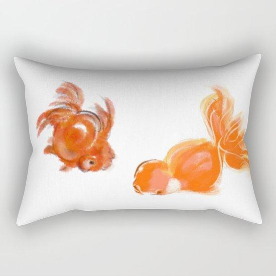 goldfish 1 Rectangular Pillow