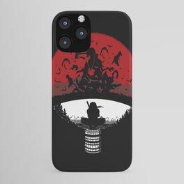 Uchiha Clan Silhouette iPhone Case