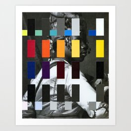 Untitled (or, The Historical Burden of Color Theory) Art Print