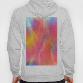 Abstract Watercolor Beautiful P 395 Hoody
