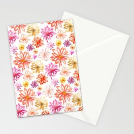 Painted Floral I Stationery Cards