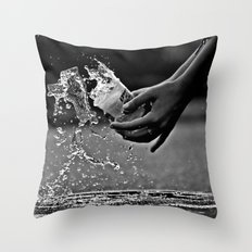 oops Throw Pillow
