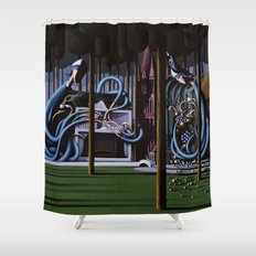 The Gateway to Her Shower Curtain
