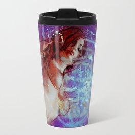 Graffiti Girl V Travel Mug