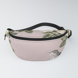 Birds and the Bees Pink Berry Fanny Pack