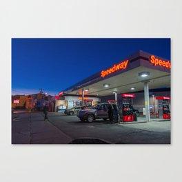 Gasland: Speedway Canvas Print