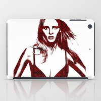 calvin and hobbes iPad Cases featuring Lara Stone Calvin Klein Fashion by fashionistheonlycure