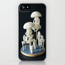 Paleozoic Sea Creature: jellyfish iPhone Case
