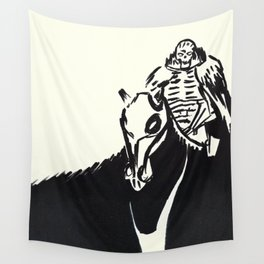 Skull Knight Wall Tapestry