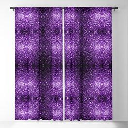 Beautiful Dark Purple glitter sparkles Blackout Curtain