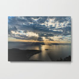 View to Behold Metal Print