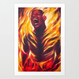 Pyrophobia Art Print