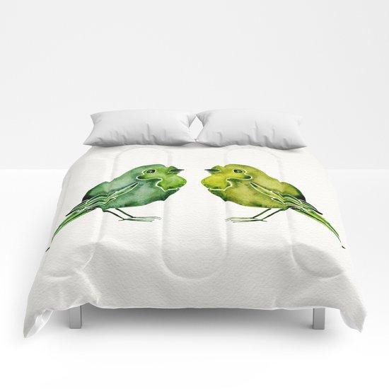 Parakeets Comforters