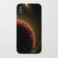 planet iPhone & iPod Cases featuring Planet by Svetlana Sewell