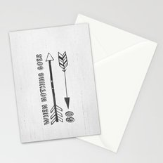 When Nothing Goes Right, Go Left Stationery Cards