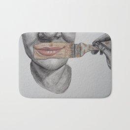 Paint on a Smile Bath Mat