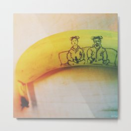 Breaking Bad Banana Metal Print