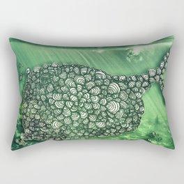 Ballena Espiral Rectangular Pillow