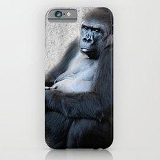 Gorilla Print iPhone 6 Slim Case