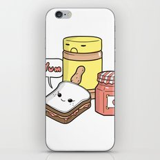 Friends Go Better Together 7/7 - Bread, Peanut Butter and Jam iPhone & iPod Skin