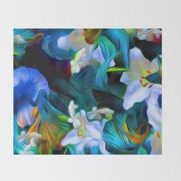 Languid Blue Comfort Throw Blanket