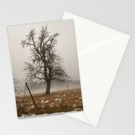 Tree Stands Tall Stationery Cards