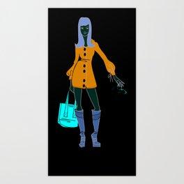Thrifting Art Print